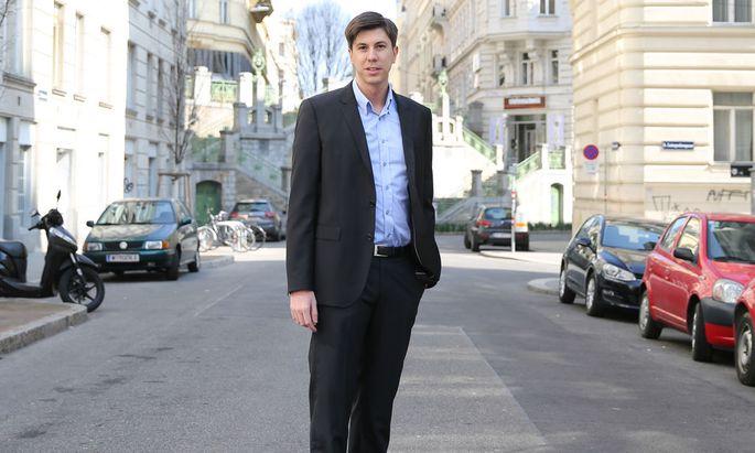 Marco Vitula hat das Start-up Diagnosia gegründet.