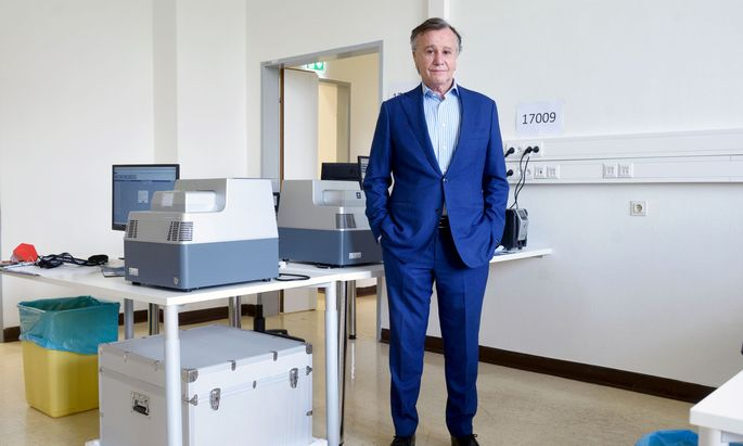 Lifebrain-Gründer Michael Havel machte sich in den 1990er-Jahren als Herzchirurg im Wiener AKH einen Namen.