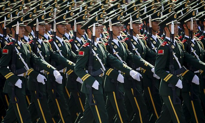 Es ist die größte Militärparade in der Geschichte Chinas.