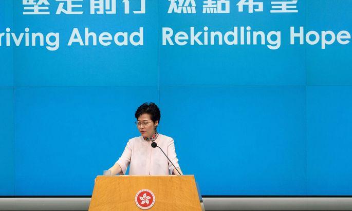 Regierungschefin Carrie Lam.