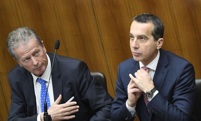 Studie: ÖVP kritisiert SPÖ duetlich öfter als umgekehrt