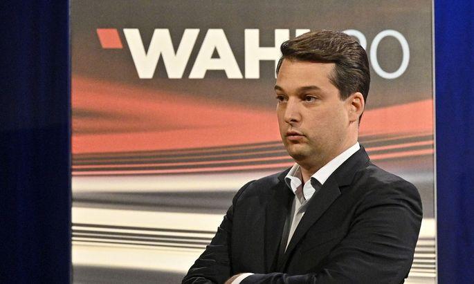 Spitzenkandidat Dominik Nepp (FPÖ)