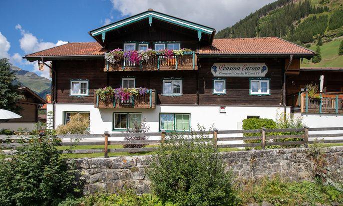 "Die ""Pension Enzian"" im St. Jakob in Osttirol"