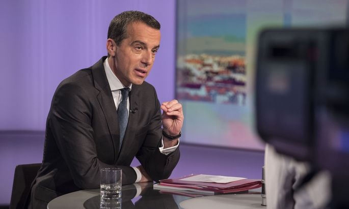 """Kanzler Kern in der ORF-""""Pressestunde"""": """"Nicht unreizvoll zu zeigen, welche Reformen möglich sind, wenn der interne Streit beendet ist."""""""