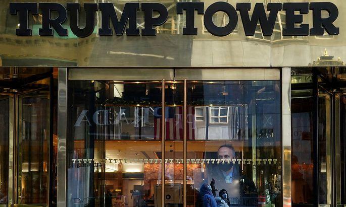 In New York steht auch der Trump Tower, von dem aus Donald Trump etwa die Amtsübernahme vor vier Jahren vorbereitet hatte.
