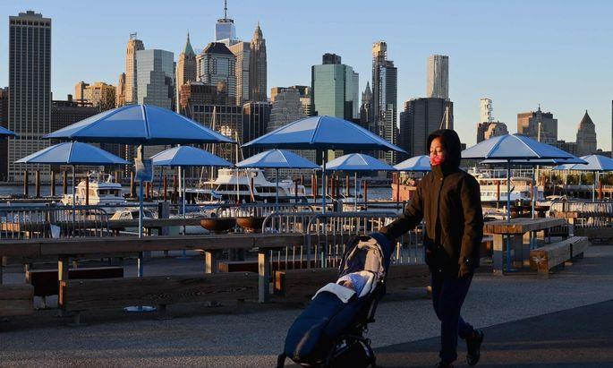 New York City zur Jahreswende. Das Jahr 2021 wird in den USA viele Veränderungen bringen.