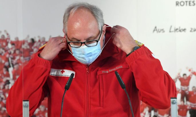 Gerry Foitik, Rot-Kreuz-Manager
