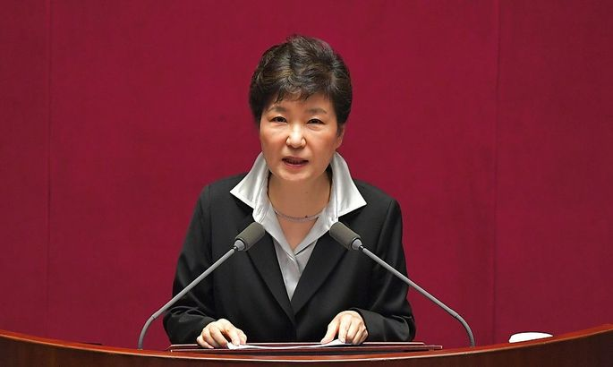 Präsidentin Park Geun hye