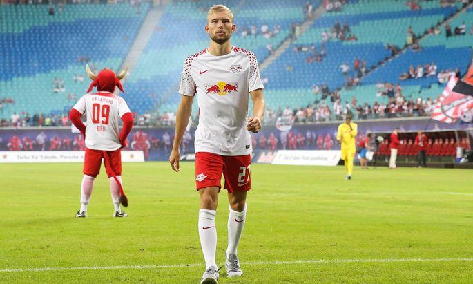 """Einmal Bulle, immer Bulle? Konrad Laimer landete über Liefering und Salzburg bei RB Leipzig. Er sagt: """"Ich lebe gerade meinen Traum."""""""
