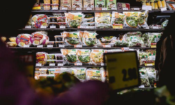Archivbild: Lebensmittelgeschäft in Venedig