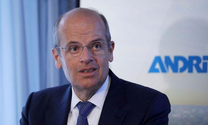 Andritz-Chef Wolfgang Leitner: mit der Geschäftsentwicklung zufrieden