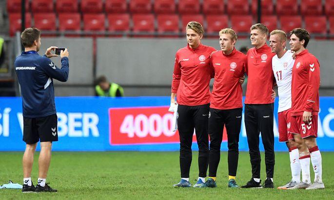 International Friendly - Slovakia v Denmark
