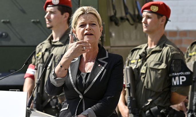 Verteidigungsministerin Klaudia Tanner.