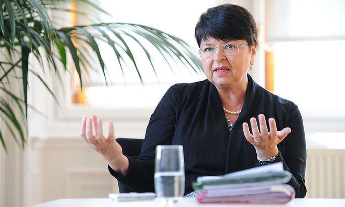 Archivbild: Renate Brauner in ihrem Büro