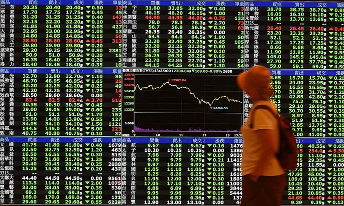 Archivbild: Die Börse in Taipei