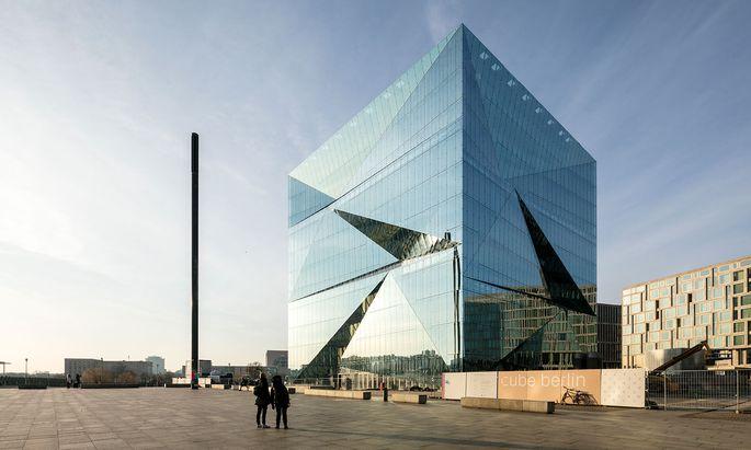 Das Bürohaus Cube der CA Immo wurde vor der Fertigstellung verkauft.
