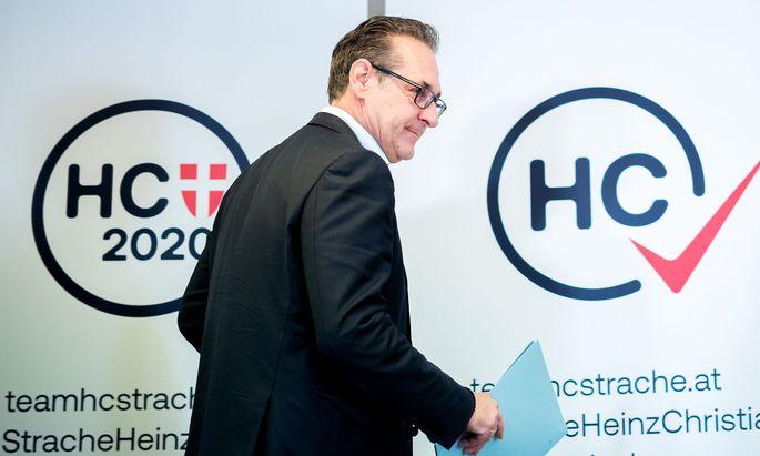 Der frühere FPÖ-Chef und Vizekanzler Heinz Christian Strache