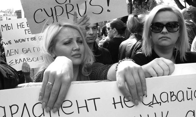Bankendrama Zypern Warum