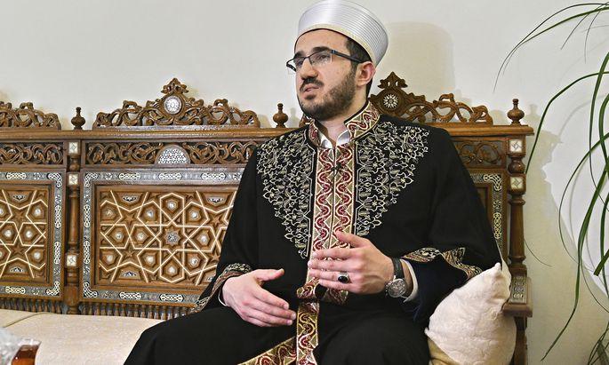 """""""Das Ansehen unserer Moscheen wurde beschädigt, und das darf nicht der Fall sein"""": IGGÖ-Präsident Ibrahim Olgun."""