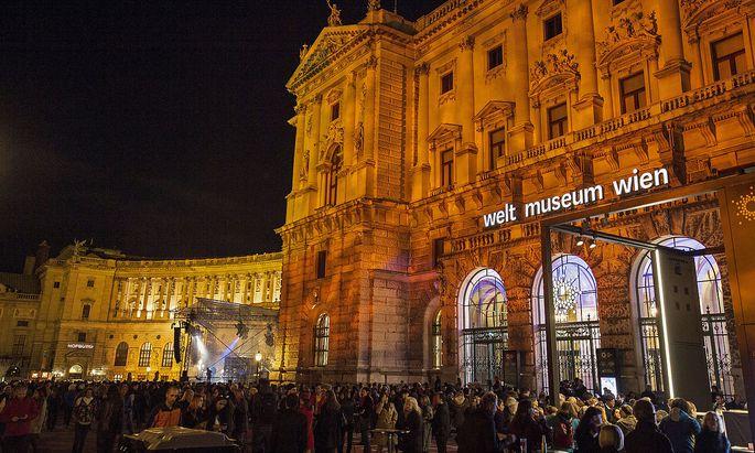 Die Eröffnung des Museums war am 25. Oktober