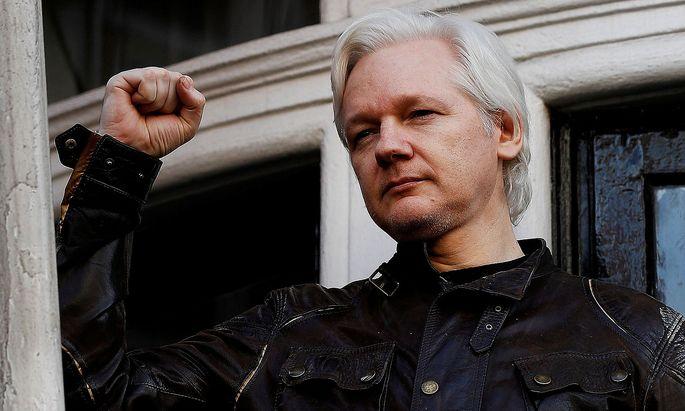 Archivbild von Julian Assange aus dem Jahr 2017.