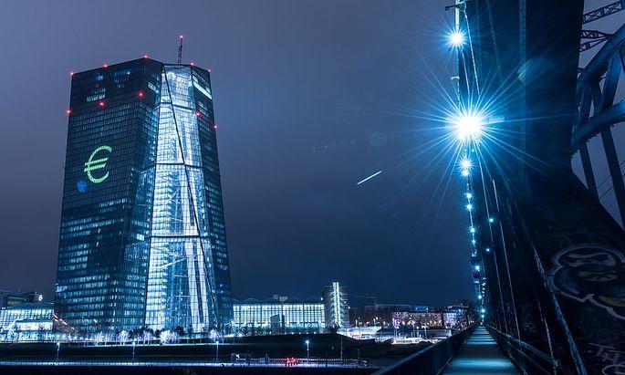 Die EZB in Frankfurt am Main.