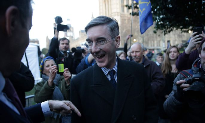 Populär bei konservativer Basis: Jacob Rees-Mogg könnte Urwahl zum Tory-Führer gewinnen.