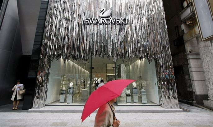 Archivbild: Ein Swarovski-Flagship-STore in Japan