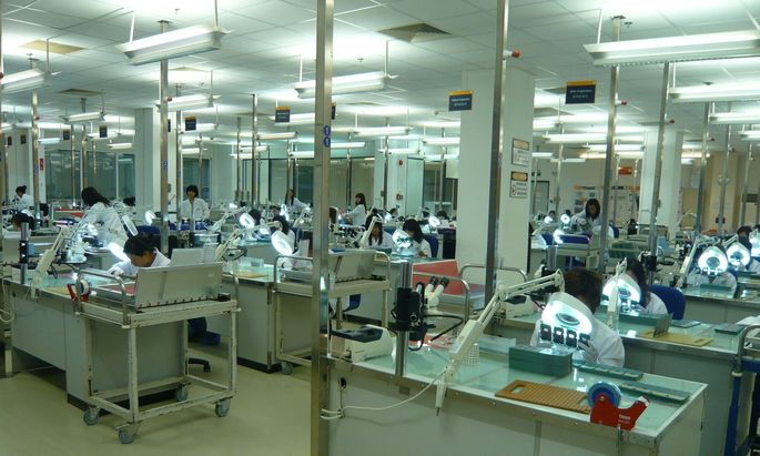 Das AT&S-Werk in Shanhai ist wieder in Betrieb