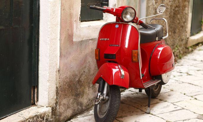 Italiens erfolgreichstes Exportgut auf zwei Rädern wird 75.