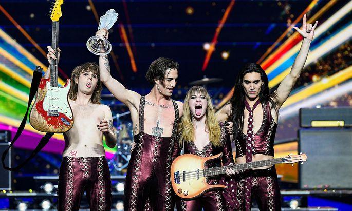 """Mit dem Lied """"Zitti e buoni"""" konnte Italien zum dritten Mal in der Geschichte den Eurovision Song Contest gewinnen."""