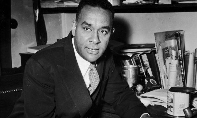 Vater des afroamerikanischen sozialen Realismus. Richard Wright, 1908–1960.