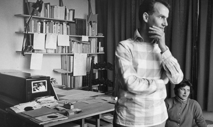 Unruhe war die Quelle seiner Fantasie: Luigi Nono und seine Ehefrau, Nuria Schönberg-Nono, Venedig 1959.