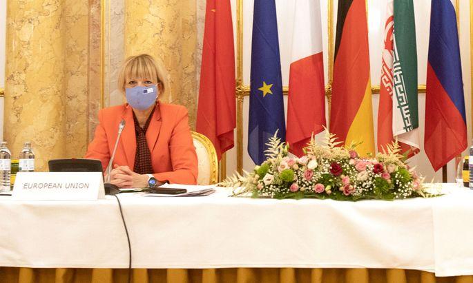 Die deutsche Karrierediplomatin Helga Schmid.