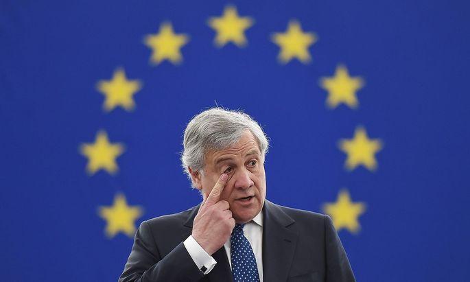 Antonio Tajani würde gerne Parlamentspräsident bleiben - doch das Machtgefüge in Brüssel und Straßburg ist ein kompliziertes.