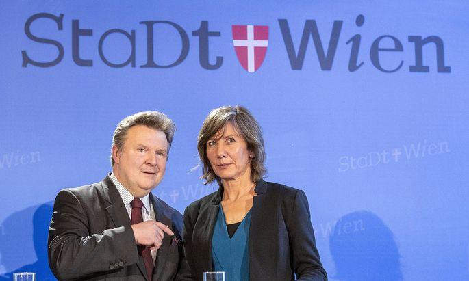 Der Wiener Bürgermeister warnte davor, dass ÖVP, Grüne und Neos gemeinsam Birgit Hebein zur Bürgermeisterin küren könnten.