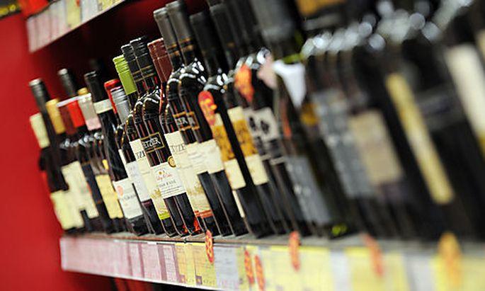 Alkohol war neben Tabek, Wohnung und Verkehr eine der Hauptkomponenten für die Teuerung