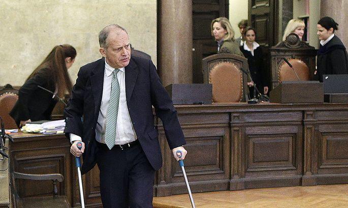 PROZESS GEGEN ERNST STRASSER IN DER LOBBYISTENAFFAeRE