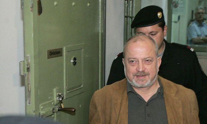 Helmut Osberger beim Prozess 2008