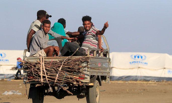Durch den Krieg in der Region von Tigray wurden rund eine Million Menschen im Land zur Flucht gezwungen.