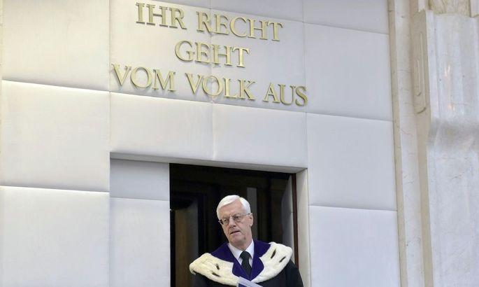 VFGH-ENTSCHEIDUNG ZUR BP-WAHL-ANFECHTUNG / VERKUeNDUNG: HOLZINGER