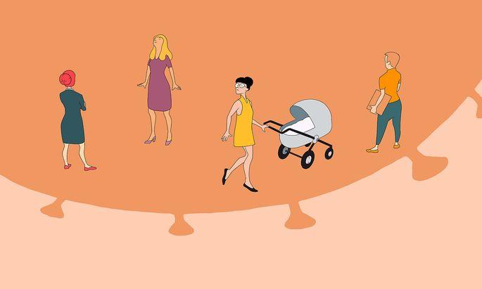 Frauen im Schatten von Corona