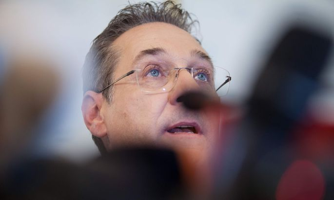 Ex-FPÖ-Vizekanzler Heinz-Christian Strache.