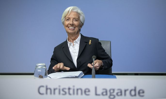 Christine Lagarde, Präsidentin der Europäischen Zentralbank
