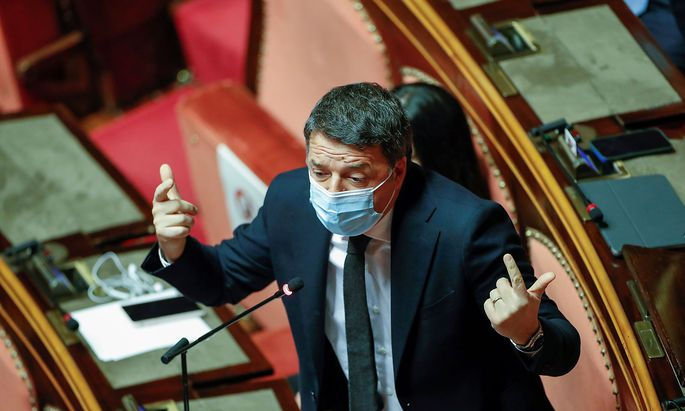 Italiens früherer Premier Matteo Renzi.