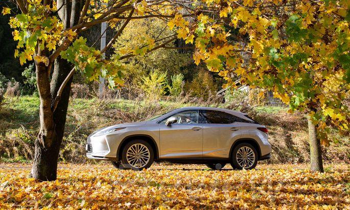 Lexus RX 450h: Sparsam angesichts der Opulenz, eine interessante Alternative im Feld der Luxus-SUVs.