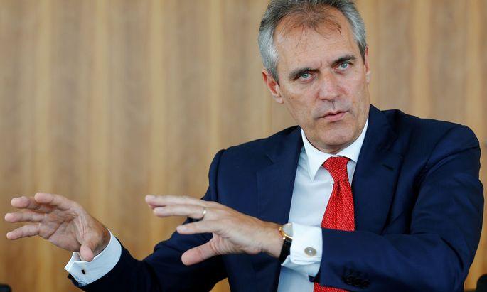 Umschichten und neue Wege suchen. OMV-Chef Rainer Seele schielt auf die Unterstützung des Regierungschefs.