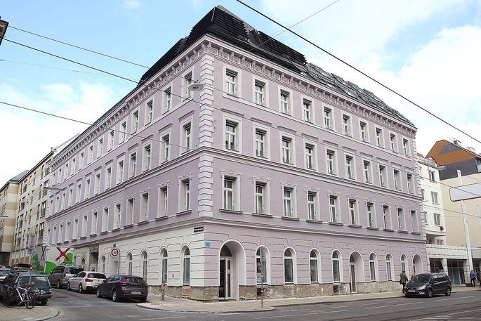 Das Gründerzeitgaus in der Mariahilfer Straße 182 nach der Sanierung.