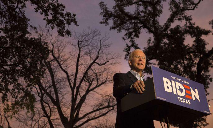 Joe Biden ist nach wie vor Frontrunner der Demokraten und aussichtsreichster Trump-Herausforderer. Die Ukraine-Affäre konnte ihm bisher nichts anhaben.