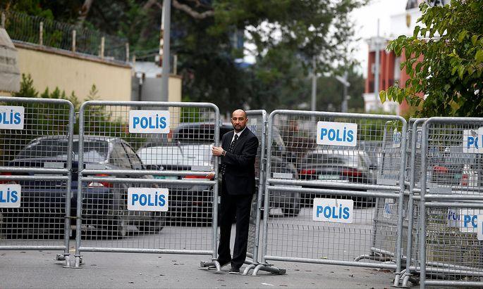 Das saudiarabische Konsulat in Istanbul.